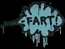 Sealed Graffiti | Fart (Wire Blue)