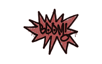 Sealed Graffiti | BOOM (Blood Red)