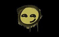 Sealed Graffiti | Smirk (Tracer Yellow)