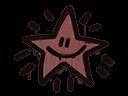 Sealed Graffiti | Shining Star (Brick Red)