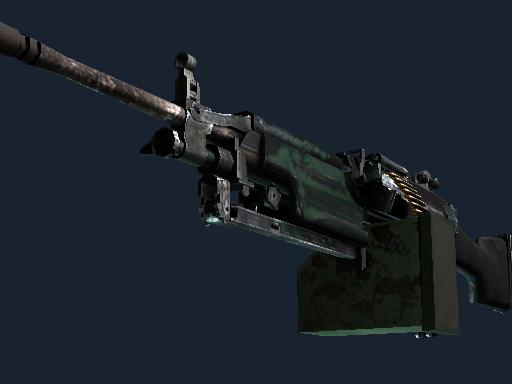 M249   Jungle (Battle-Scarred)
