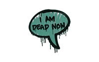 Sealed Graffiti | Dead Now (Frog Green)