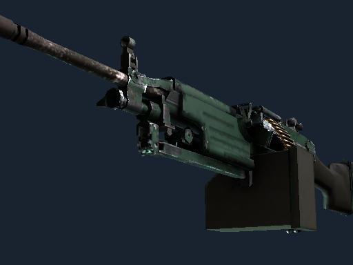 M249 | Jungle (Well-Worn)