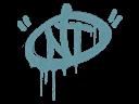 Sealed Graffiti   NT (Wire Blue)