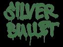 Sealed Graffiti   Silver Bullet (Jungle Green)