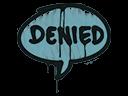 Sealed Graffiti | Denied (Wire Blue)