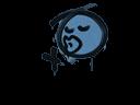 Sealed Graffiti   Smooch (Monarch Blue)