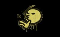 Sealed Graffiti   Chef Kiss (Tracer Yellow)