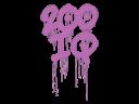 Sealed Graffiti   200 IQ (Bazooka Pink)