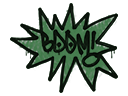 Sealed Graffiti | BOOM (Jungle Green)