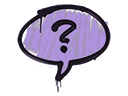Sealed Graffiti | Question Mark (Violent Violet)