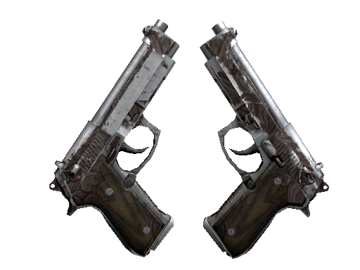 Dual Berettas | Pyre (Battle-Scarred)