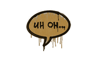 Sealed Graffiti | Uh Oh (Desert Amber)