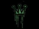 Sealed Graffiti | Little Crown (Jungle Green)