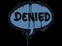 Sealed Graffiti | Denied (Monarch Blue)