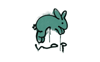 Sealed Graffiti | Hop (Frog Green)