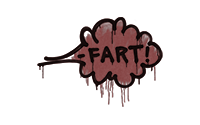 Sealed Graffiti | Fart (Brick Red)