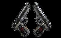 StatTrak™ Dual Berettas | Balance (Well-Worn)
