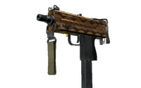 MAC-10 | Copper Borre (Minimal Wear)