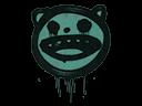 Sealed Graffiti | Happy Cat (Frog Green)
