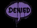 Sealed Graffiti | Denied (Monster Purple)