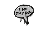 Sealed Graffiti | Dead Now (Shark White)