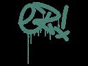 Sealed Graffiti | Little EZ (Frog Green)