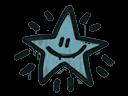 Sealed Graffiti   Shining Star (Wire Blue)