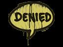 Sealed Graffiti | Denied (Tracer Yellow)