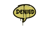 Sealed Graffiti | Denied (Tracer Yellow)