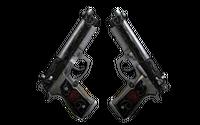 StatTrak™ Dual Berettas | Balance (Battle-Scarred)