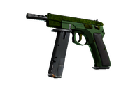 CZ75-Auto | Emerald Quartz (Minimal Wear)
