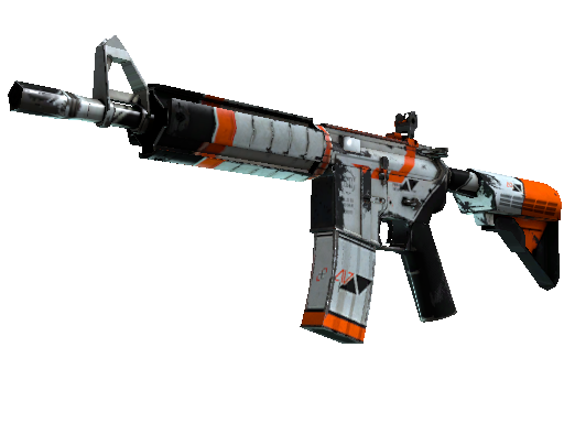 M4A4   Asiimov (Battle-Scarred)