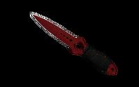 ★ Skeleton Knife | Crimson Web (Minimal Wear)