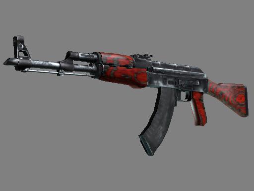 AK-47 | Red Laminate (Well-Worn)