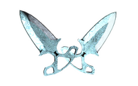 ★ Shadow Daggers   Damascus Steel (Factory New)