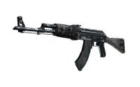 Souvenir AK-47 | Black Laminate (Battle-Scarred)