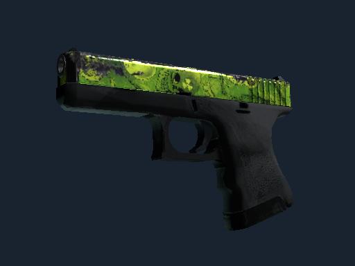 Glock-18 | Nuclear Garden (Battle-Scarred)