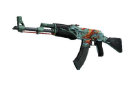 AK-47 | Aquamarine Revenge (Well-Worn)
