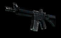 M4A4 | Dark Blossom (Well-Worn)