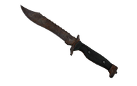 ★ Bowie Knife | Rust Coat (Battle-Scarred)