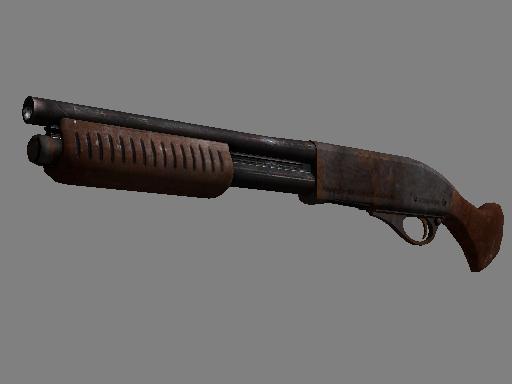 Souvenir Sawed-Off | Rust Coat (Battle-Scarred)