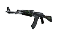 AK-47 | Emerald Pinstripe (Battle-Scarred)