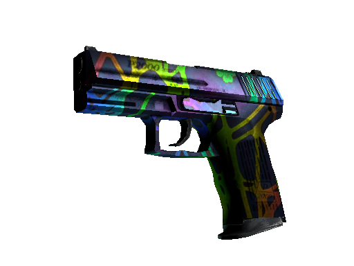 P2000   Acid Etched (Well-Worn)