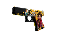 StatTrak™ Glock-18 | Bullet Queen (Minimal Wear)