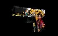 StatTrak™ Glock-18 | Bullet Queen (Well-Worn)