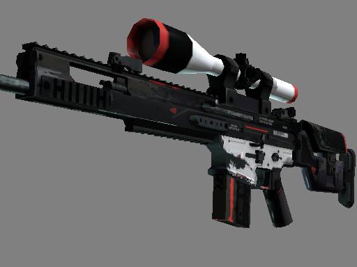 SCAR-20 | Cyrex (Well-Worn)
