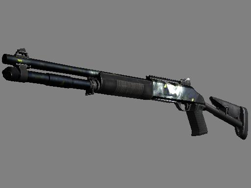 XM1014 | Quicksilver (Battle-Scarred)