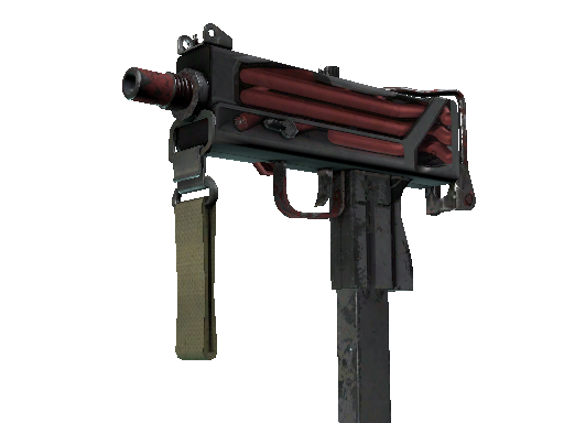 MAC-10 | Pipe Down (Battle-Scarred)