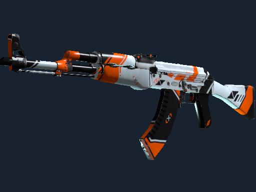 AK-47 | Asiimov (Well-Worn)